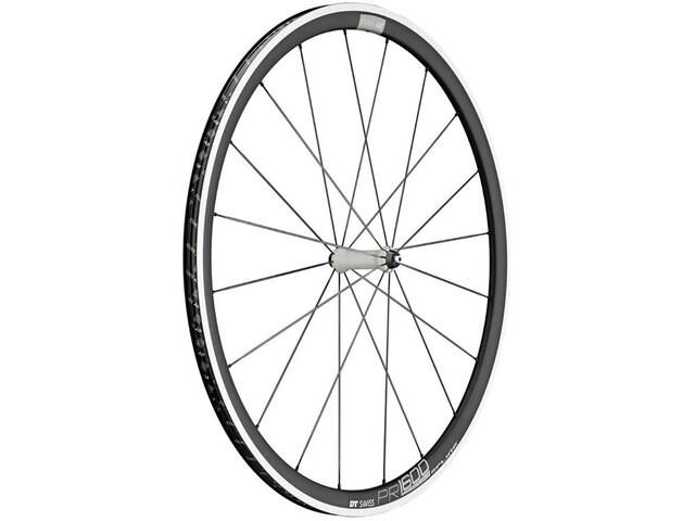 DT Swiss PR 1600 Spline 32 Front Wheel Alu 100/5mm black/white